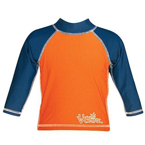 UV SKINZ UPF50+ Baby Boy Long Sleeve Sun & Swim Shirts