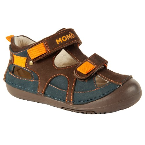 Momo Baby Boys First Walker Toddler Thomas Leather Sandals Shoes