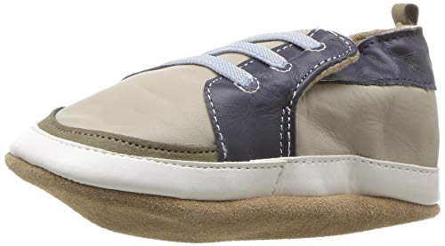 Robeez Boys' Super Sporty Soft Soles Crib Shoe