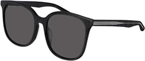 Balenciaga Sunglasses 001 Black/Grey Lens 56 mm