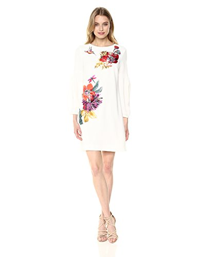 Trina Turk Women's Passion Dress, White wash