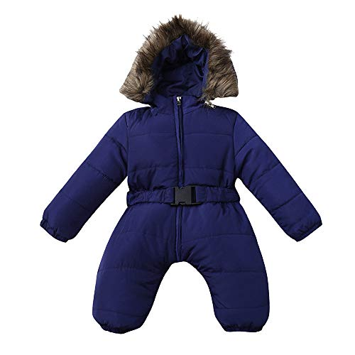 8448a80e4858 Clothing Sets Hatoys Winter Infant Baby Boy Girl Romper Jacket Hooded  Jumpsuit Warm Thick Coat Outfit