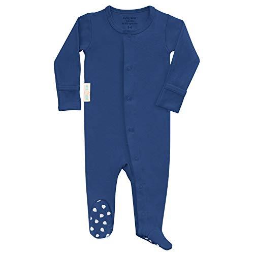Organic Baby Onesie Footed Pajamas   Unisex Sleeper Clothes