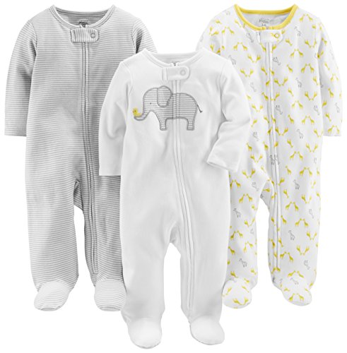 Simple Joys by Carter's Baby 3-Pack Neutral Sleep and Play