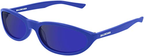 Balenciaga Sunglasses Blue Mirror Glass Lens