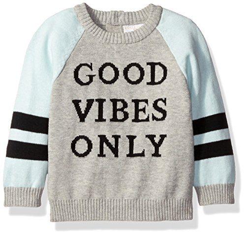 Rosie Pope Baby Boys' Good Vibes Only Sweatshirt