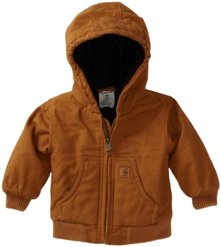 Carhartt Baby-boys Infant Active Quilted Flannel Lined Jacket