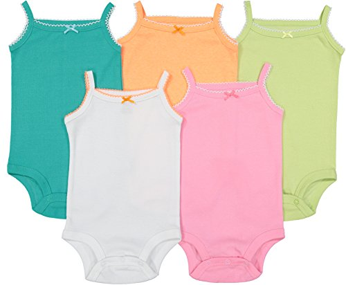 Cute Baby Sleeveless Bodysuits | Beautiful Multicolored Onesies