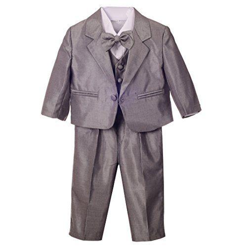 Dressy Daisy Baby Boys' Formal Dress Suit Tuxedo