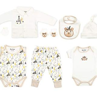Baby Bright Newborn Clothes Set for Boy 0 to 3 Months