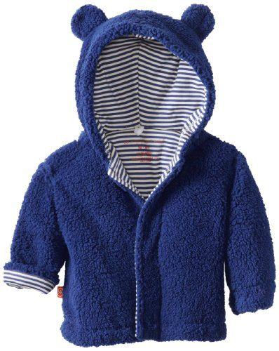 Magnificent Baby Baby Boys' Magnetic Smart Little Bear Fleece