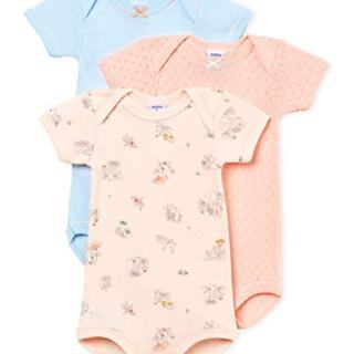 Petit Bateau Baby Girl's Short-Sleeved Bodysuit