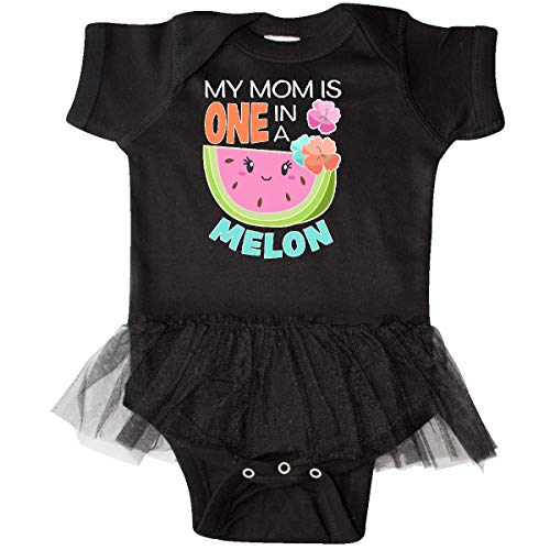 inktastic - My Mom is One in a Melon Infant Tutu Bodysuit