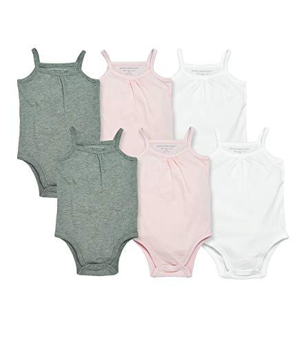 Burt's Bees Baby Baby Girls' Bodysuits, Camisole Sleeveless