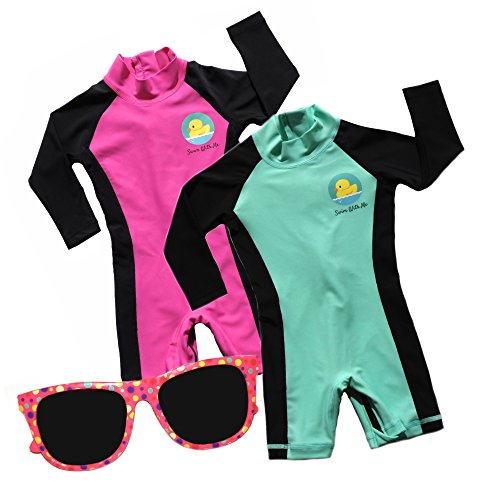 Swim with Me- SPF 50+ Sun Protection Swimsuit for Infant