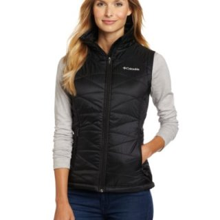 Columbia Women's Mighty Lite III Vest, Black, Large