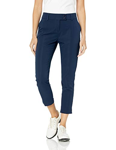 "PGA TOUR Women's 29"" Inseam Seersucker Ankle Pant"