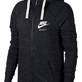 Nike Women's Sportswear Hoodie Black/Sail Size X-Large