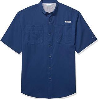 Columbia Men's Tamiami II Short Sleeve Fishing Shirt