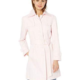 Nanette Lepore Women's Spring Poplin Jacket, Blush, M