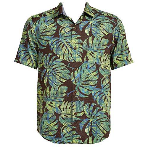 Tommy Bahama Batiki Tiki Silk Blend Camp Shirt