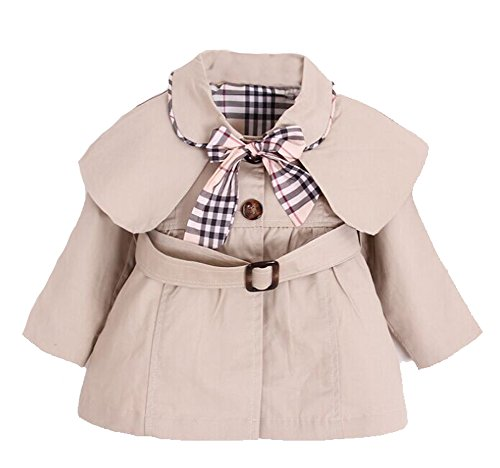 Kids Baby Girl Spring Autumn Trench Coat Fashion Wind Proof Jacket