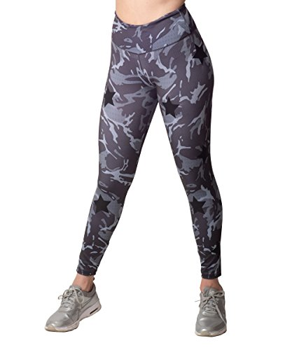 Activefit Mix Stars Camouflage Stretch High Waisted Workout Yoga Pants