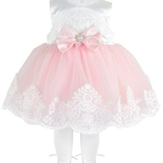 T.F. Taffy Taffy Baby Girl Newborn Pink Embroidered Princess