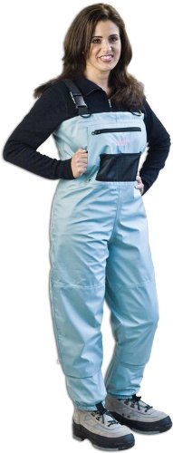 Caddis Women's Attractive Teal Deluxe Breathable Stocking Foot Chest Wader