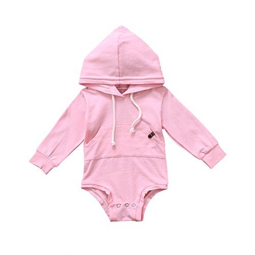 bebiullo Newborn Baby Girl Boy Clothes Hoodie