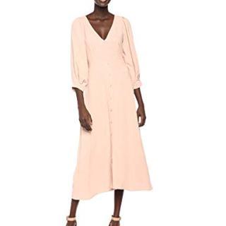 Rachel Pally Women's Linen Agnes Dress, Sand, L