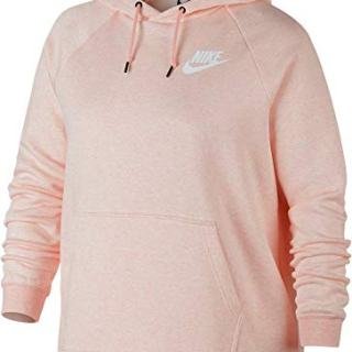 Nike Womens Plus Size Sportswear Rally Hoodie