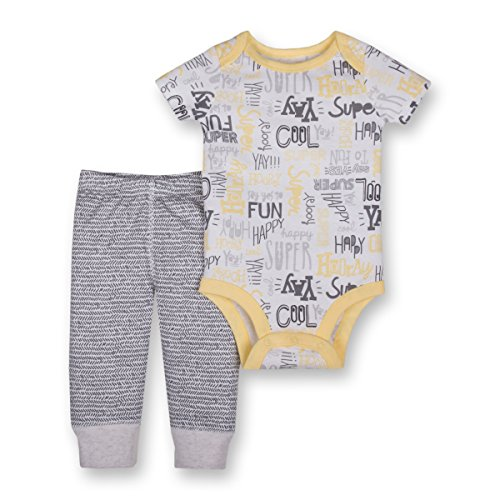 Lamaze Organic Baby Baby Organic 2 Piece Bodysuit and Pant Set