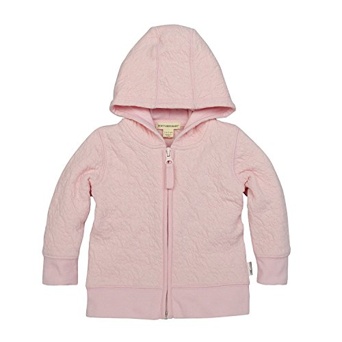 Burt's Bees Baby Unisex Baby Jacket, Hooded Coat, 100% Organic Cotton