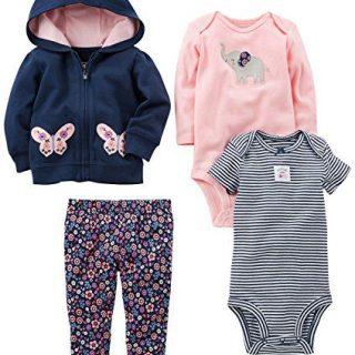 Simple Joys by Carter's Baby Girls 4-Piece Little Jacket Set