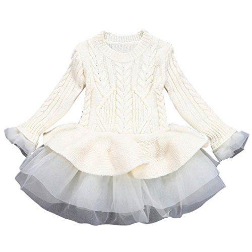 Sunbona Toddler Baby Girls Princess Cute Autumn Winter