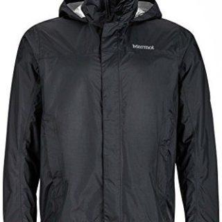 Marmot Men's PreCip Jacket, Black X-Large