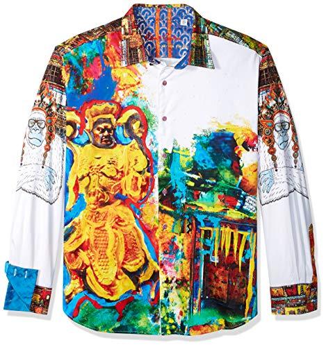 Robert Graham Men's YAKI Warrior Limited Edition Shirt