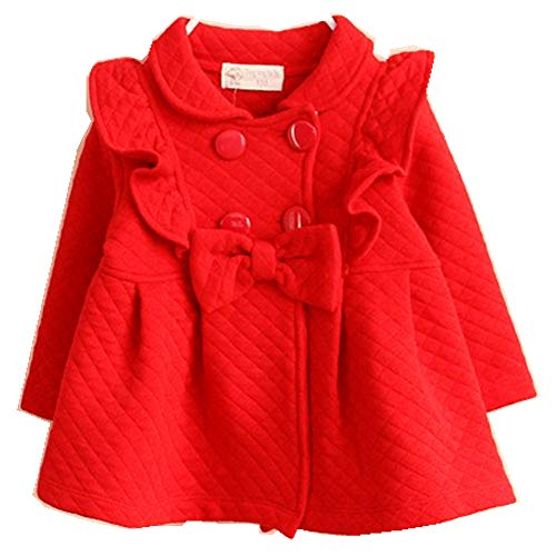 Baby Girls Outwear Trench Coat Jacket 6M-4T Kids Clothes