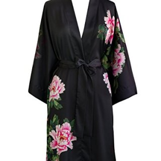 Old Shanghai Women's Kimono Robe Short