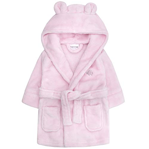 Baby Boys & Girls Unisex Dressing Gown Soft Plush Flannel