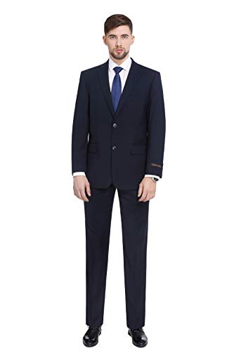 P&L Men's Two-Piece Classic Fit Office 2 Button