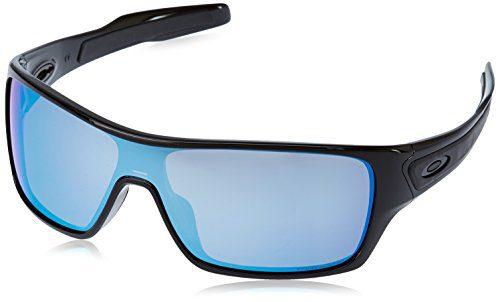 Oakley Men's Turbine Rotor Iridium Rectangular Sunglasses