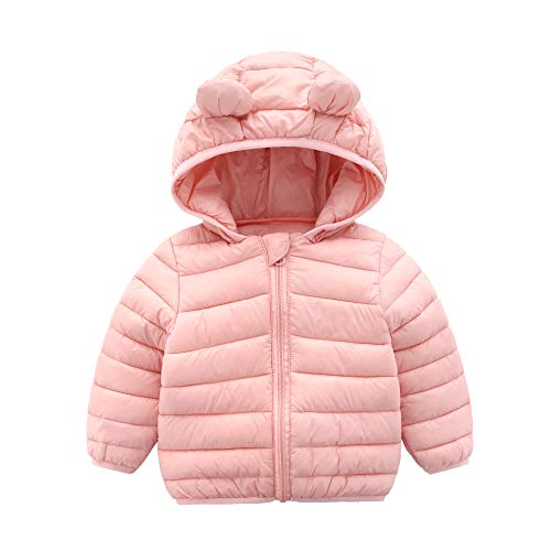 CECORC Winter Coats for Kids with Hoods (Padded) Light Puffer Jacket