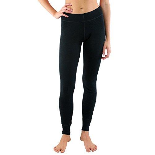 Woolx Womens Nora Heavyweight Merino Wool Base Layer Leggings