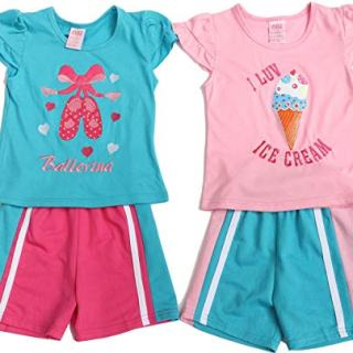 Just Love 44057-12M Two Piece Short Set (Pack of 2)