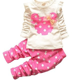 Baby Girl Clothes Infant Outfits Set 2 Pieces Cute Toddler