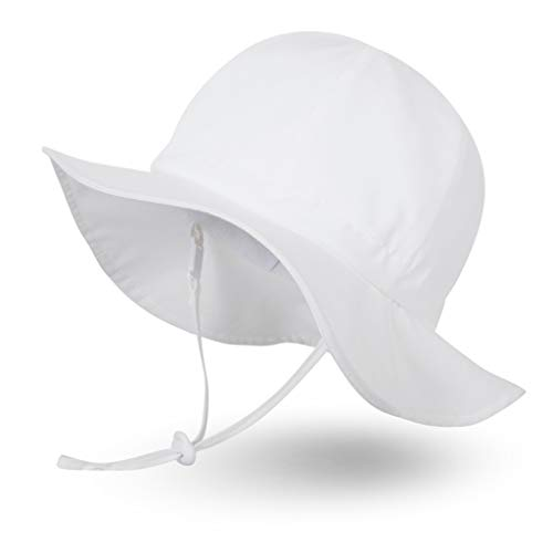 Ami&Li tots Unisex Child Adjustable Wide Brim Sun Protection
