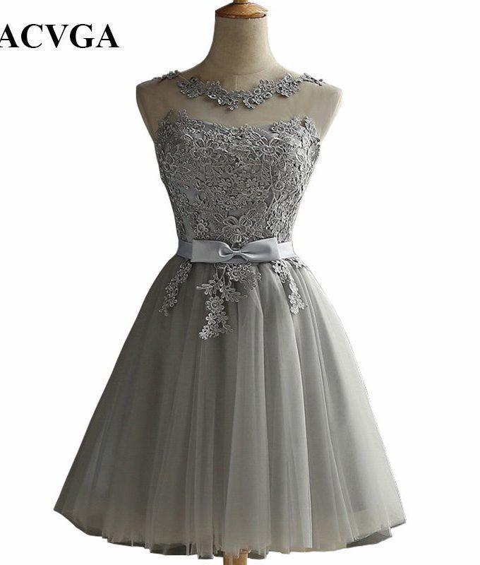 GACVGA 19 Elegant Lace Diamond Summer Dress