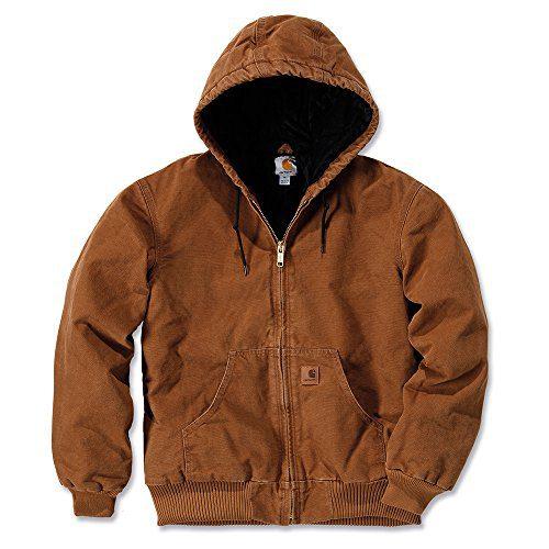 Carhartt Men's Sandstone Active Jacket,Carhartt Brown,Large